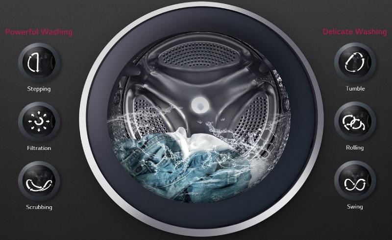 لباسشویی ال جی WJ1408NTP با موتور Inverter Direct Drive