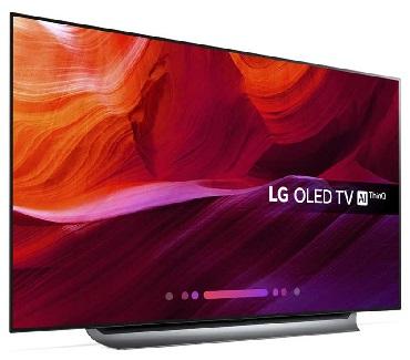 قیمت تلویزیون 55 اینچ ال جی c8pva بانه کالا