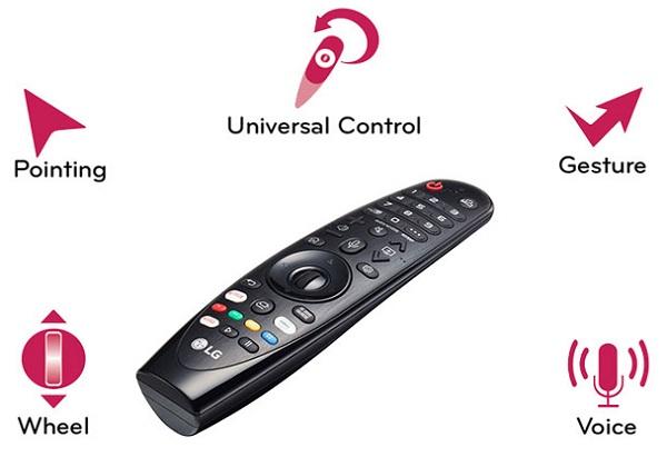 تلویزیون اسمارت ال جی 55NANO90 با قابلیت کنترل صوتی