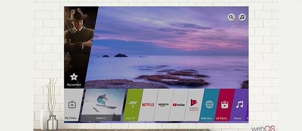 تلویزیون اسمارت 55UM7400 با سیستم عامل webos عرضه در بانه کالا