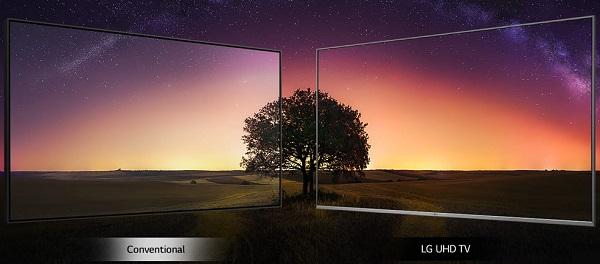 خرید تلویزیون ال جی 55UM7400 با قابلیت hdr در بانه کالا