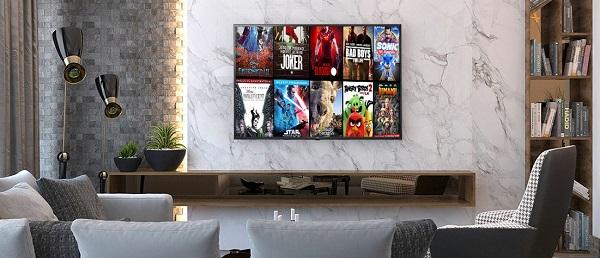 تلویزیون اسمارت 55UN7100 با سیستم عامل webos عرضه در بانه کالا