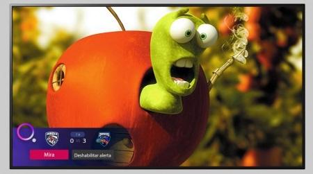 قابلیت sport alert در تلویزیون 55up7750 ال جی