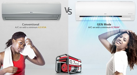 محصولات خانگی ال جی - عرضه در بازرگانی AMPN24K