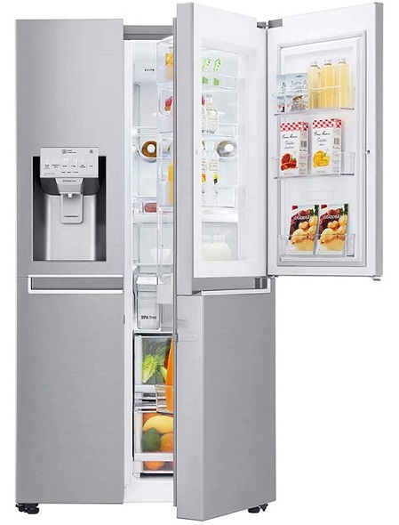 LG GCJ-267P خرید ارزان یخچال فریزر از بانه
