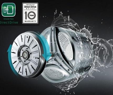 لباسشویی ال جی f4j6 با موتور دایرکت درایو اینورتر - خرید از بانه