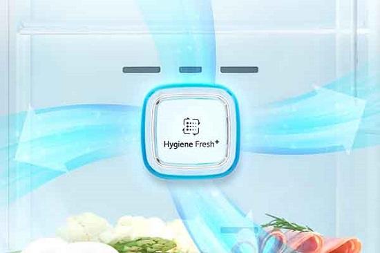 فیلتر بهداشتی hygiene fresh+ در یخچال ال جی x257 بانه کالا