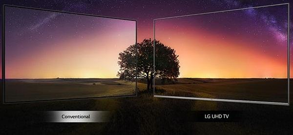 تلویزیون lg um7300 بانه کالا