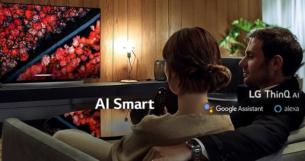 تلویزیون 55 اینچ اولد 4k ال جی 55c9 بانه