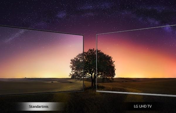 تلویزیون lg 55um7090 بانه