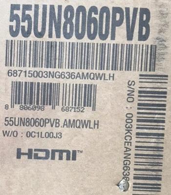 تلویزیون 55 اینچ 4k ال جی lg 55un8060, خرید از baneh24