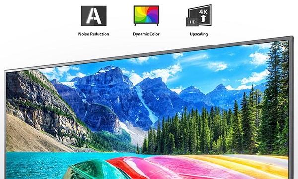 تلویزیون led اسمارت 4k ال جی un8060, خرید از بانه کالا
