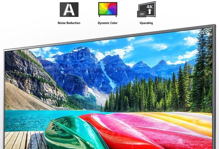 تلویزیون ال جی 55UN8100 با کیفیت 4K HDR