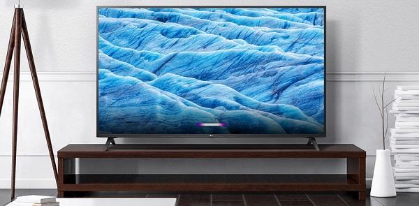 تلویزیون هوشمند 4K ال جی lg 60um7100, خرید از baneh24