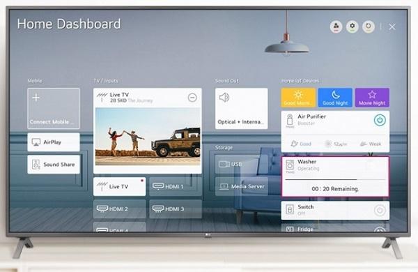عرضه انواع تلویزیون هوشمند در بانه مدل lg nano79