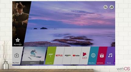 خرید تلویزیون هوشمند ال جی با سیستم عامل webos از بانه - بانه 24