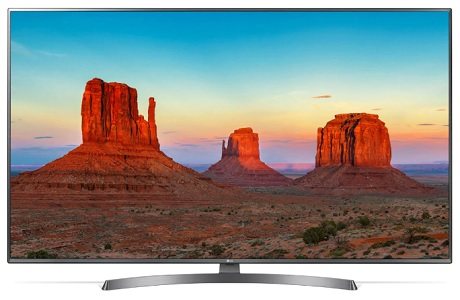 تلویزیون 55 اینچ ال جی LG UK69000 بانه کالا
