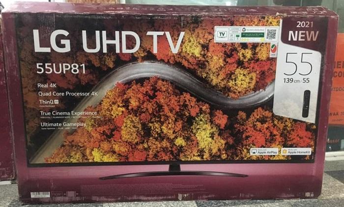 خرید انواع تلویزیون LED از بانه24 مدل 55UP8150 ال جی