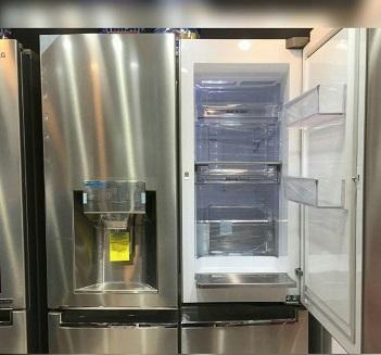 قیمت یخچال ساید بای ساید ال جی مدل j34 بانه