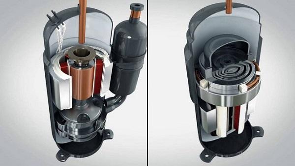 کولر گازی 12000 گری معمولی GREE Lomo با موتور اسکرول بانه 24