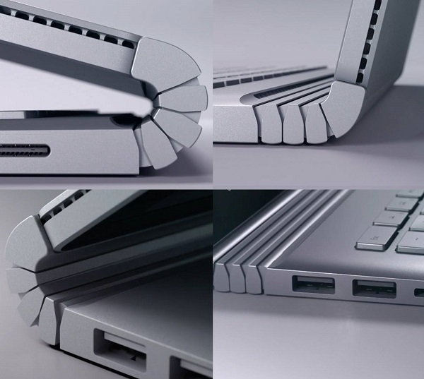 طراحی الترابوک Microsoft Surface Book 1 بانه