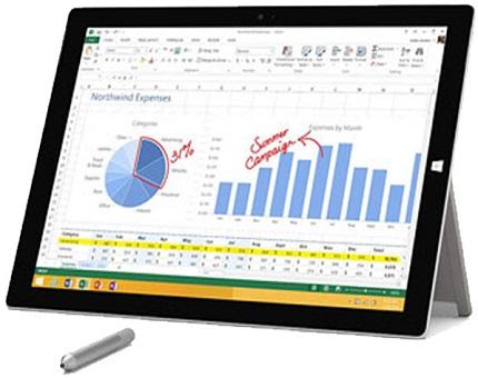 الترابوک-(تبلت-ویندوزی)-استوک-مایکروسافت-سرفیس-پرو-3-Microsoft-Surface-Pro
