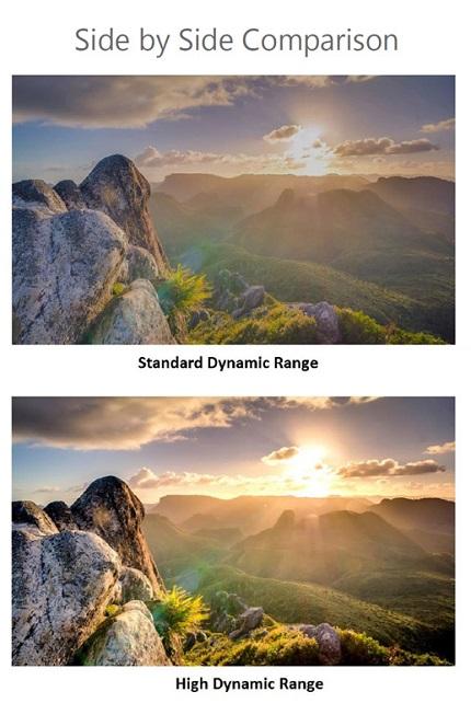 کیفیت تصویر HDR بانه24