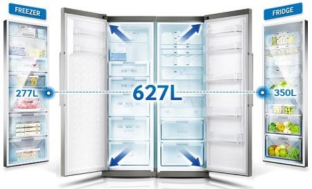 خرید یخچال فریزر دو قلو - فروش یخچال در بانه کالا