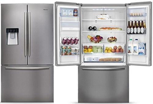 سبک فرانسوی فریز پایین - فروشگاه هور - محصولات خانگی - فروش یخچال فریزر