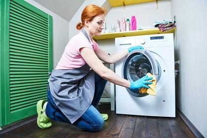جرم گیری و تمیزکاری ماشین لباسشویی بانه