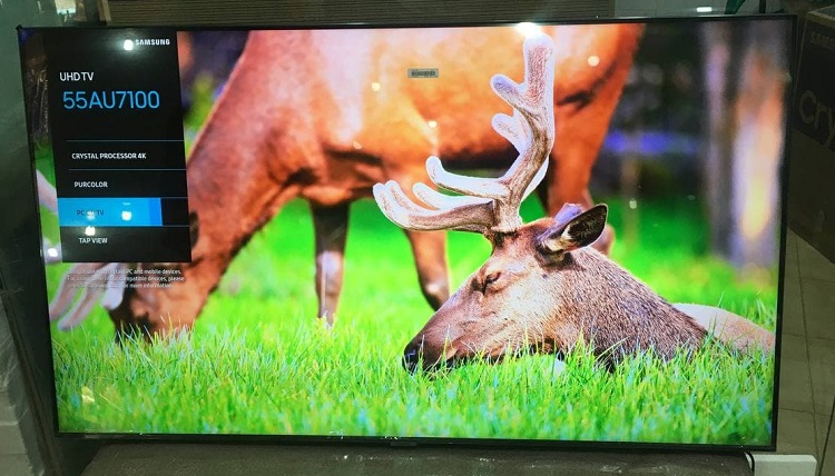 تلویزیون اسمارت 55 اینچ 55AU7100 بانه کالا