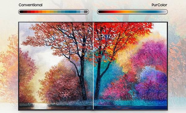 تلویزیون 4K HDR سامسونگ 55AU7000 بانه کالا