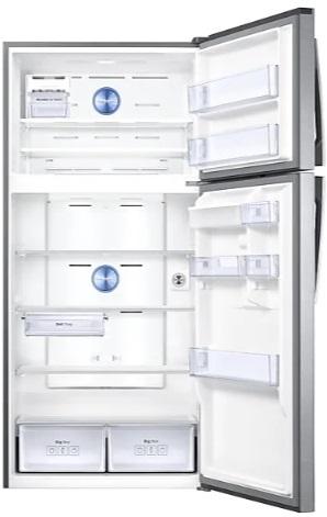 قیمت و مشخصات خرید یخچال فریزر دو درب بالا و پایین SAMSUNG مدل RT62