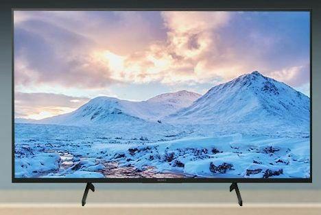 تلویزیون x7500h سونی با قابلیت نصب به دیوار خرید از بانه