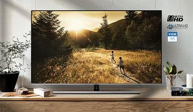 خرید ارزان با خدمات پس از فروش عالی در بازرگانی بانه کالا - تلویزیون هوشمند 55 اینچ UHD سامسونگ SAMSUNG مدل 55NU8000