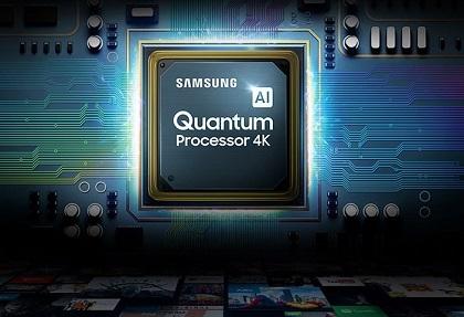 تلویزیون سامسونگ با پردازنده کوانتوم پروسسور فور کی - خرید از بانه