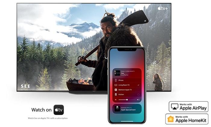 خرید 55X8000H از بانه دارای قابلیت Apple AirPlay
