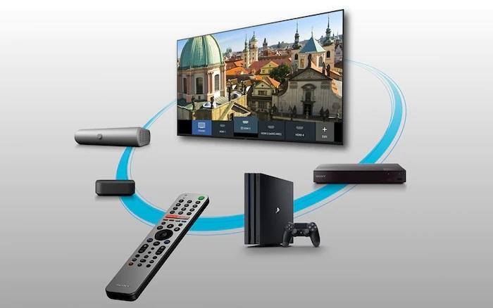 تلویزیون 65x8000h با قابلیت اتصال به ابزارهای مختلف