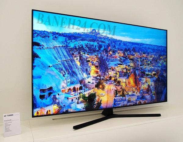 تلویزیون 55 اینچ سامسونگ کریستال 55tu8500 بانه